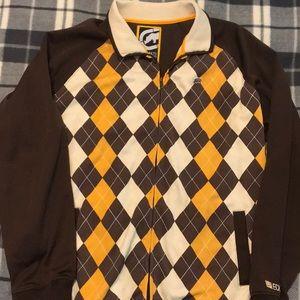 Ecko Unlimited Argyle Print Jacket